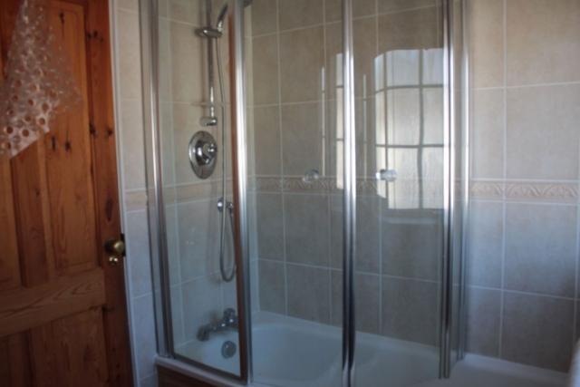 Bathroom - shower over bath