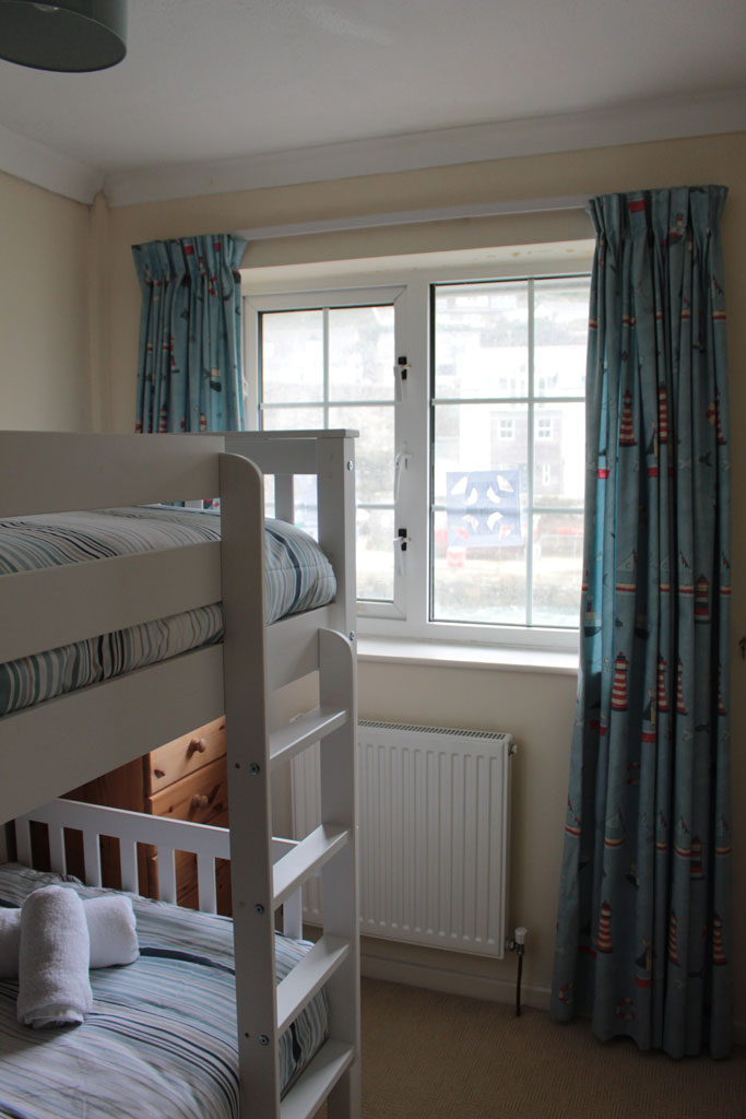 View of Bedroom 3 with bunk beds